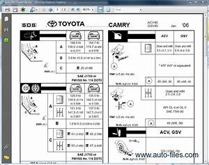 Toyota Camry V40 Rus  Repair Manuals Download  Wiring Diagram  Electronic Parts Catalog  Epc