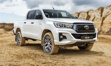 toyota hilux special edition unwrapped  europe