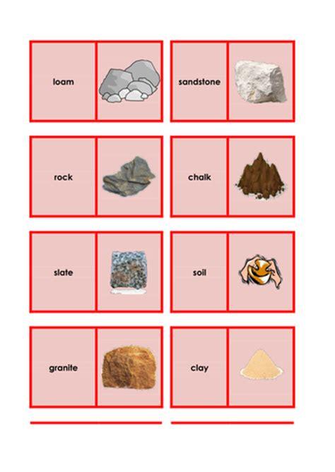 rocks  soils science keyword activities resources