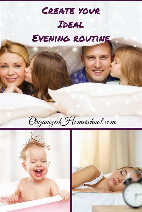 create  ideal evening routine  images evening