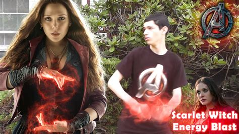 scarlet witch energy blast effect youtube
