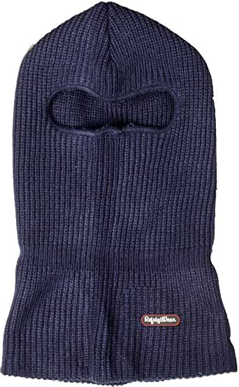 refrigiwear double layer acrylic knit open hole balaclava