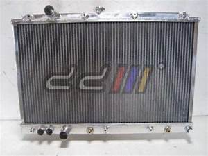 Dd Racing Alloy Radiator For Mitsubishi Lancer Mirage Ck4a
