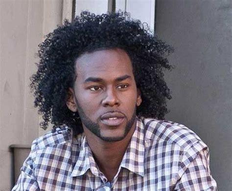 Long Curly Hair for Black Men   Men's Hairstyles