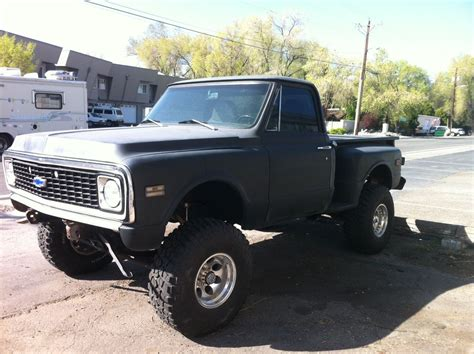 1971 Chevy Stepside 4wd For Sale In Reno, Nevada, United