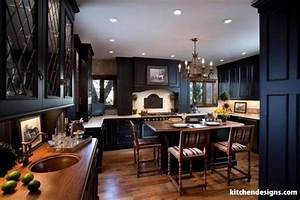 Kitchen Designs By Ken Kelly : luxury black kitchen with distressed cabinets kitchen designs ny ~ Markanthonyermac.com Haus und Dekorationen