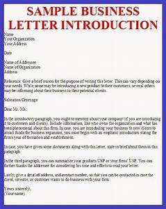 small business introduction letter the letter sample With sample of letters introducing new cleaning services company