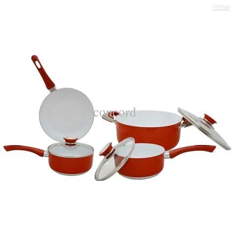 eco healthy ceramic nonstick cookware set cookware sets stainless steel copper cookware sets