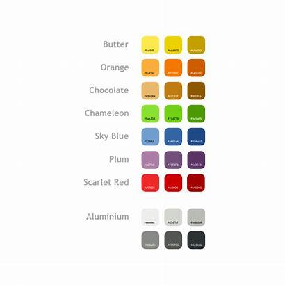Tango Palette Palettes Icon Colors Theme Colores