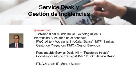 pwc help desk mooc itsmf espa 241 a quot gesti 243 n de servicios quot introducci 243 n al