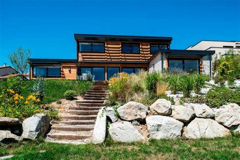 chambre pour auvent maison bois poteau poutre toiture terrasse millery lyon 69
