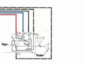 wiper motor connection impremedianet With chevy wiper motor wiring diagram likewise wiring 2 prong rocker switch