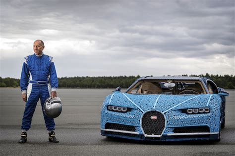 The delectable lego bugatti is a challenge to build by itself, but once completed, the team ventured to a local hobby store for some actual motivation. Lego Built a Full-Size Bugatti Chiron That Actually Drives