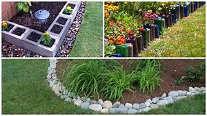 Bordure De Jardin : des id es originales de bordures de jardin astuces ~ Melissatoandfro.com Idées de Décoration