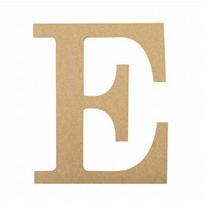 10quot decorative wood letter e ab2029 mardigrasoutletcom With decorative letter e