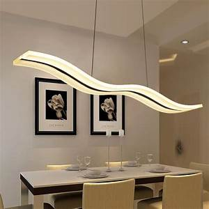 Led modern chandeliers for kitchen light fixtures home
