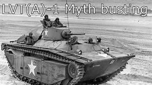 Lvt A -1 Floating Tank Myth Busting