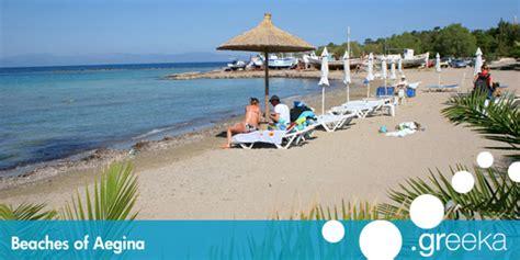 Best 4 Beaches In Aegina Island Greekacom