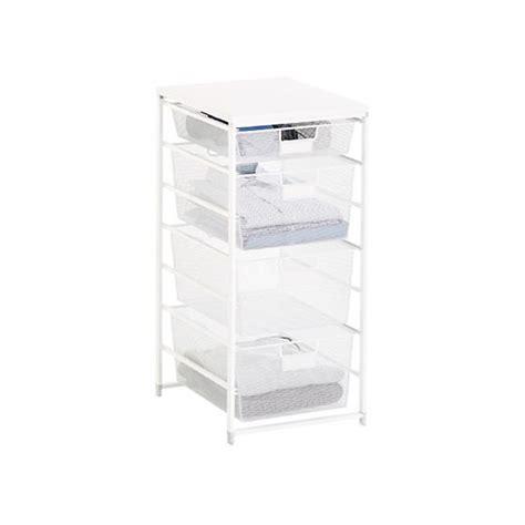 white cabinet sized elfa mesh closet drawers the