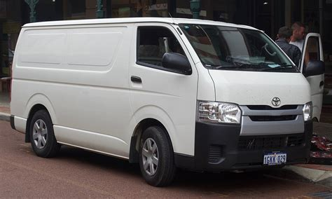 Toyota Hiace Picture by Toyota Hiace