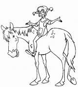 Pippi Coloring Longstocking Pages Horse Bilbi Cl Episodes Royal Cricut Icelandic Astrid Lindgren Seahorse Mittens Icing Kindergarten Templates Tattoo Cake sketch template