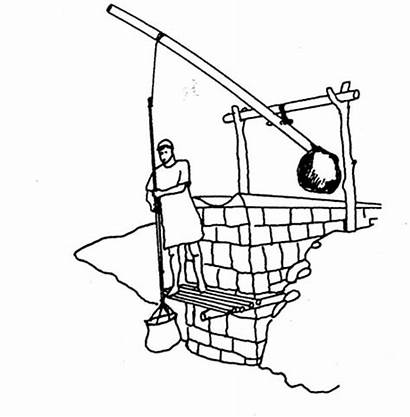 Mesopotamia Ancient Irrigation Coloring Pages System Egypt