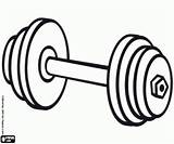 Weights Equipment Weightlifting Template sketch template