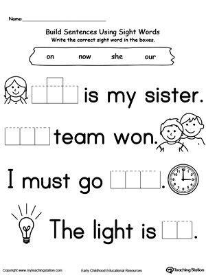 preschool  kindergarten worksheets kindergarten