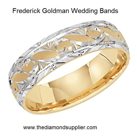 New Frederick Goldman Wedding Bands Introduced for 2014