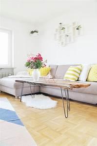 Couchtisch Selbst Bauen : diy couchtisch aus massivholz selber bauen bonny und kleid ~ Michelbontemps.com Haus und Dekorationen