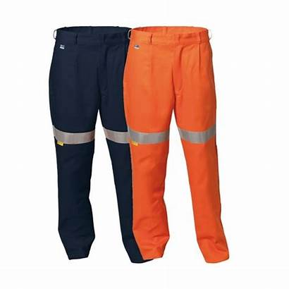 Trousers Drill Reflective Vis Tape Hi Workwear