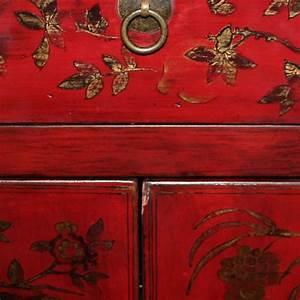 Meuble Chinois Rouge : meuble style asiatique maison design ~ Teatrodelosmanantiales.com Idées de Décoration