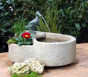 springbrunnen brunnen wasserspiel werksandstein stein 74kg With französischer balkon mit vogeltränke sandstein garten