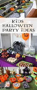 kids, halloween, party, ideas