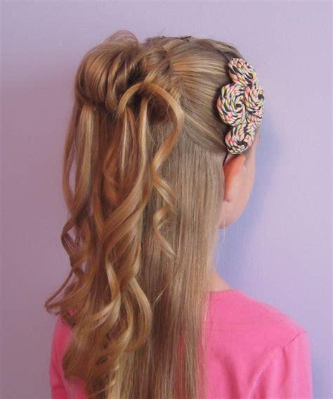 fryzura na komunie  magazyn fryzury
