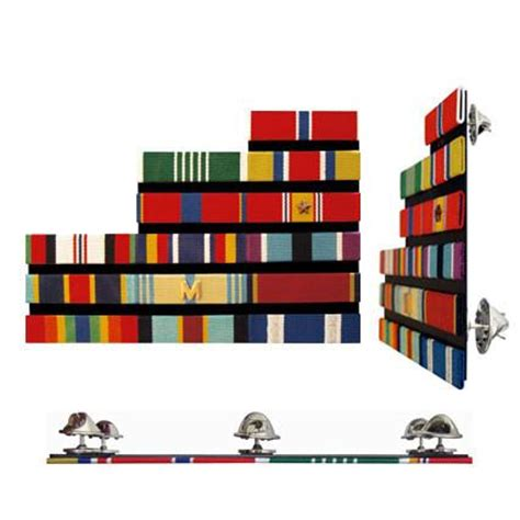 ribbon rack builder pin back 1 8 quot spaced staggered right config thin ribbon