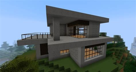 cool easy houses  minecraft modern minecraft house picture wallpaper cfun image easy