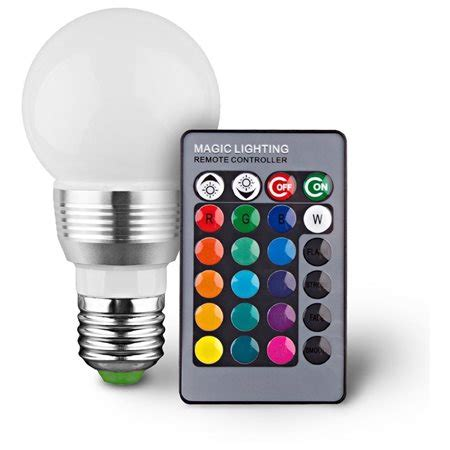 remote control color changing lights 2 pack color changing led light bulb with remote control
