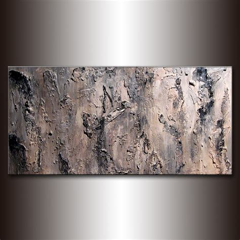 Abstract Black Painting by Paintings Originals For Sale Original Textured