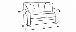 Standard Loveseat Dimensions  Picking The Ideal Loveseat Size