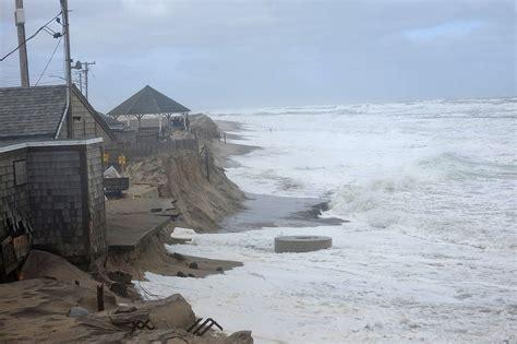Nature's Nor'easter Punch Pummels Nauset Beach! Capecodcom