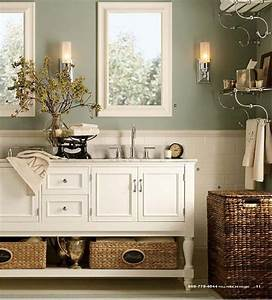 pottery barn for my potty barn pottery barn wall With kitchen colors with white cabinets with wicker basket wall art