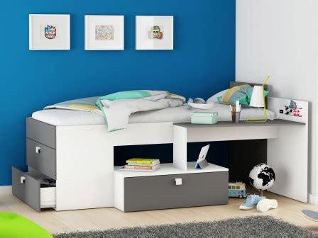 bureau pour lit mezzanine lit ado lit et mobilier chambre ado lit pour adolescent