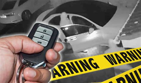 Keyless Entry Car Theft Triples In Certain
