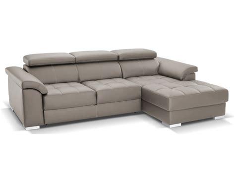 canape cuir convertible interieur accueil design et mobilier
