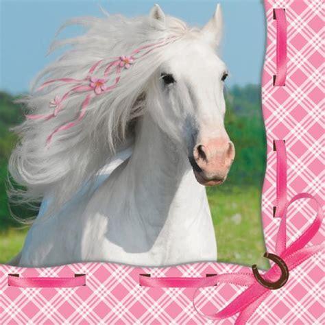 weisses pferd kinderparty onlineshopde