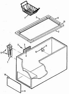 Kenmore 253 8191580 Chest Freezer Hinge Assembly