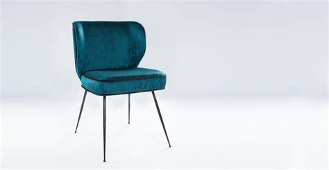 chaise velours chaise en velours ou tissu design wayne