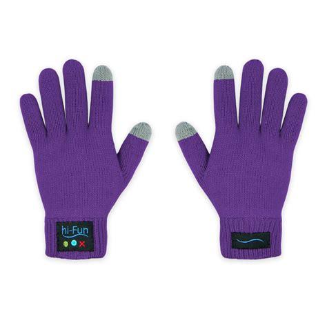 hi call gants avec micro et haut parleur intégrés bluetooth