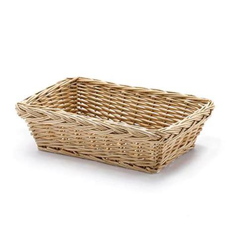 bread basket wicker wicker bread basket rectangular 25x18x8cm 25x18x8cm